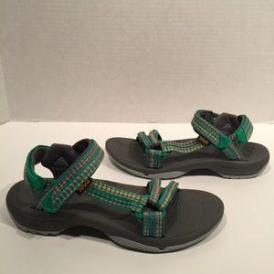 Teva Terra Fi-Lite Green Multi Color Hiking Sandal
